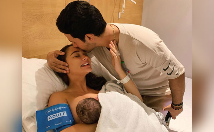 Amy Jackson Gives Birth To A Baby Boy, You Can't Miss The Adorable First Pic