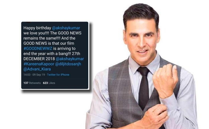 'Good News' Is Now 'Good Newwwz' As Makers Announce Title Change On Akshay Kumar's Birthday