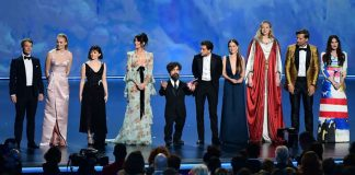 GoT cast gets a standing ovation at Emmys 2019