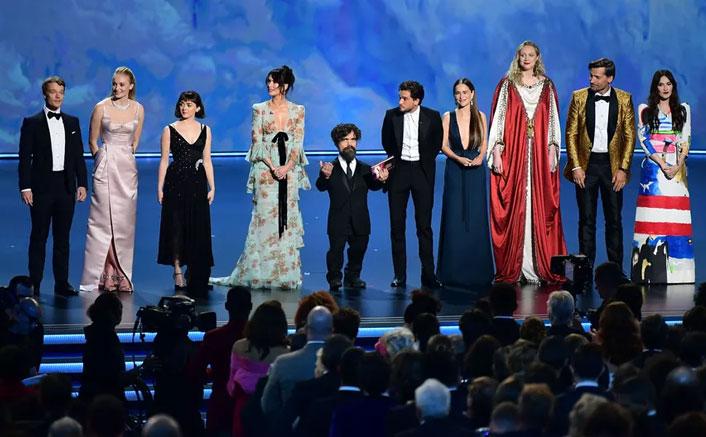 GoT cast gets a standing ovation at Emmys 2019