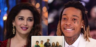Groovy Madhuri Dixit poses with Wiz Khalifa