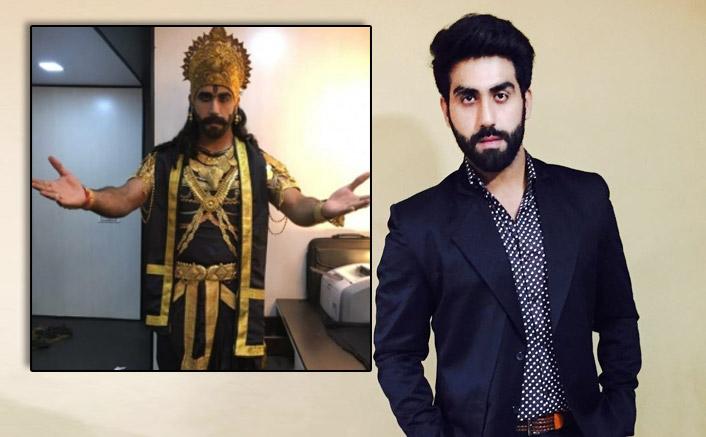 'Guddan' actor Anuj turns Ravana ahead of Dussehra