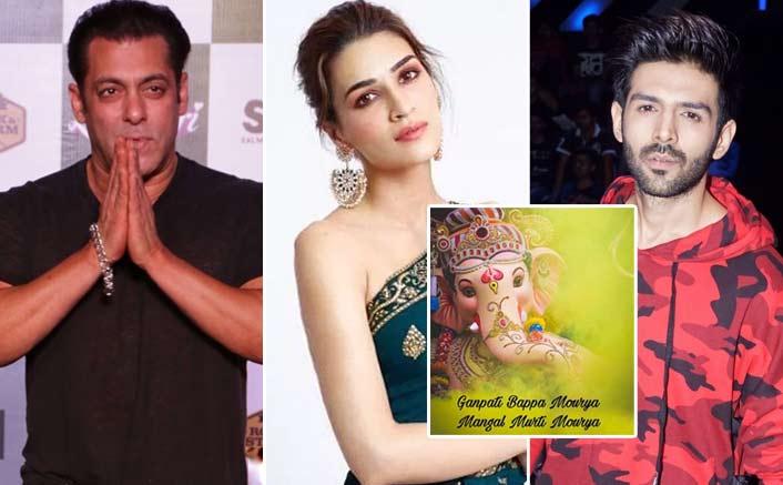 Ganesh Chathurthi 2019: From Salman Khan To Kartik Aaryan - B'Town Celebs Welcome Bappa!