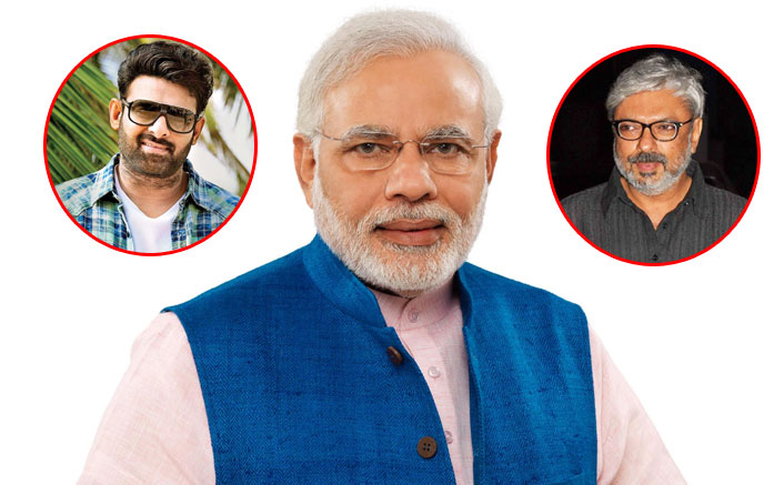 #HappyBirthdayPMModi: Prabhas To Unveil The First Look Of Sanjay Leela Bhansali's Special Feature Film On Narendra Modi