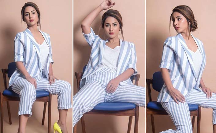 Hina Khan In The Latest Pics Nails The Formal Look; Take Notes, You Guys!
