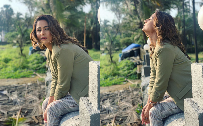 Hina Khan Embraces Wondrous Moments By The Sea And Greenery, See Photos