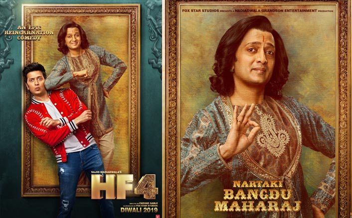 Housefull 4 Poster Ft. Riteish Deshmukh: Just A Glimpse To The HOUSE FULL Of Madness!