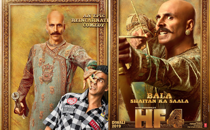 Housefull 4 Poster: Akshay Kumar's Thrilling Look Hooks Us To Witness The Chaos Of Laughter!