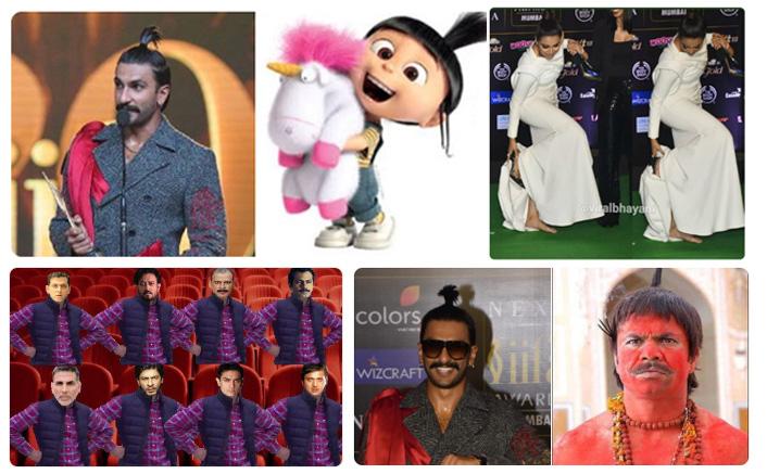 IIFA MEMES: From Deepika Padukone-Ranveer Singh's Attires To Awards – Netizens Have Their Own Tales!