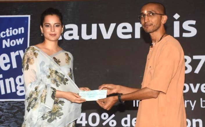 Kangana Ranaut Donates Rs. 42 Lakhs Helping To Plant 1 Lakh Saplings
