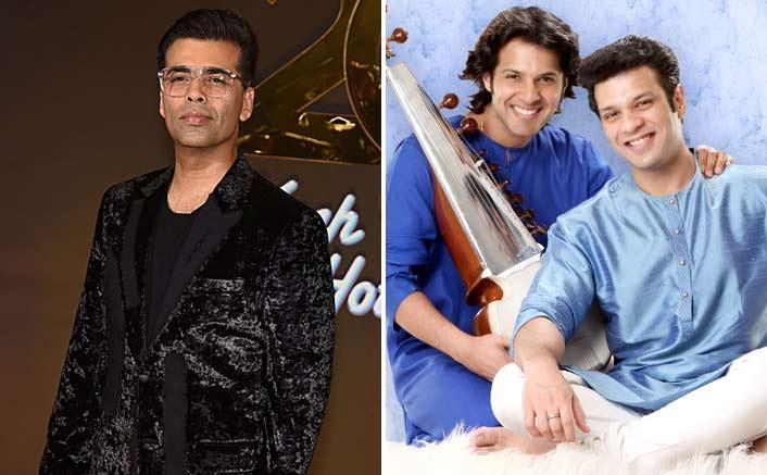 Karan Johar is all praises for Amjad Ali Khan's sons