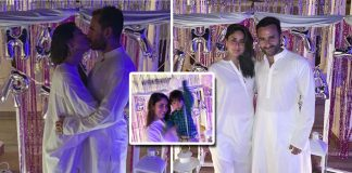 Kareena Kapoor Khan Kickstarted Her 39th Birthday With A Bang; Steals A Kiss From Hubby Saif Ali Khan