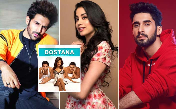 Kartik Aaryan & Janhvi Kapoor's Dostana 2 Will Have Newcomer Lakshya As The Third Lead