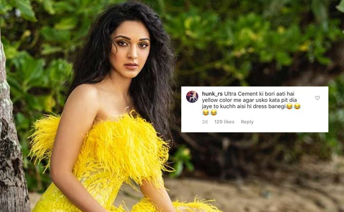 Kiara Advani Gets Trolled For Her Yellow Dress, From Calling Her Maggi To Cement Ki Bori; Netizens Have A Field Day