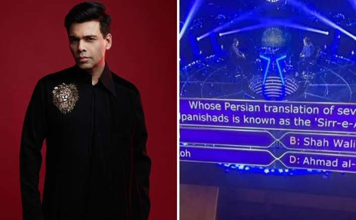 KJo knew answer to Rs 1 cr question on 'KBC'