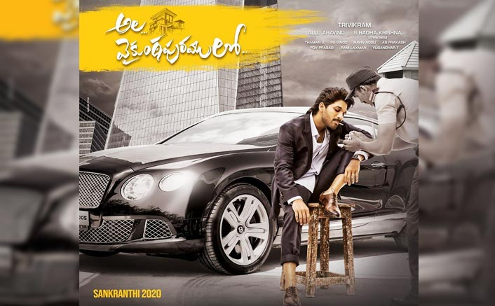 Like A Boss: First Look Poster Of Allu Arjun From Ala Vaikuntapuramlo
