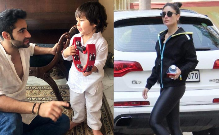 Like Mommy Kareena Kapoor Khan, Son Taimur Ali Khan Is Also A Gym Freak