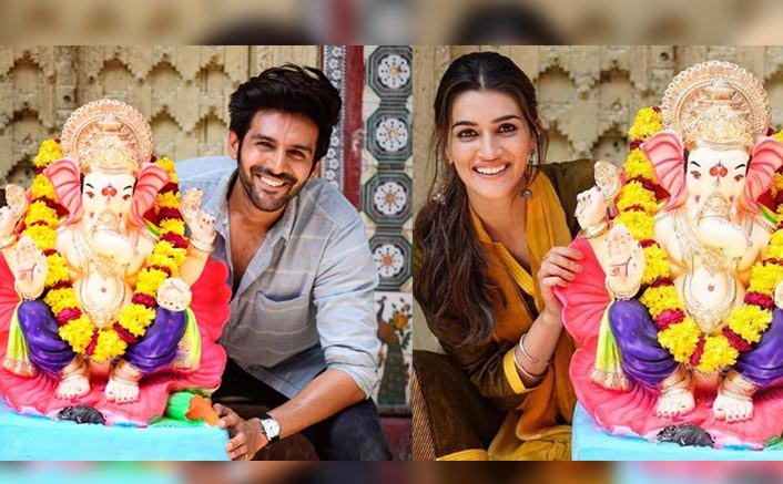 Kartik Aaryan & Kriti Sanon's Banter On Cropping Each Other Out Of Their Pictures Is HILARIOUS!