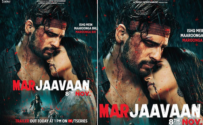 Marjaavaan Poster: Sidharth Malhotra - Tara Sutaria Raise The Temperature With Their Chemistry