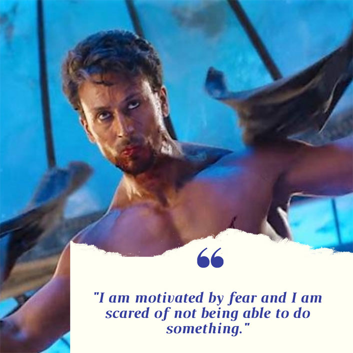 #MondayMotivation: Master Of Action Tiger Shroff Gets Inspired By Fear, Here's How!