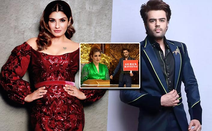 Nach Baliye 9: Raveena Tandon, Maniesh Paul Get Into A BIG Fight; Actress Throws Mic & Walks Off