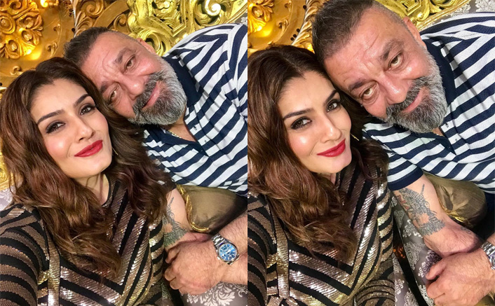 Nach Baliye 9: Raveena Tandon Meets Her 'Favouritist Hero Forever' Sanjay Dutt - See Pic!