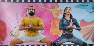 Nach Baliye 9: Wild Card Contestants Pooja Banerjee & Hubby Sandeep Sejwal Practise Hard; SEE PICS