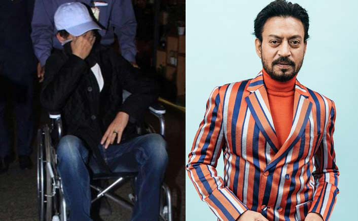 OMG: Irrfan Khan Spotted On A Wheel Chair While Making An Exit From Mumbai Airport
