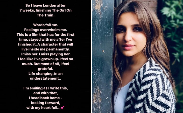 Parineeti Chopra Feels Muddled Post The Girl On The Train Schedule Wrap