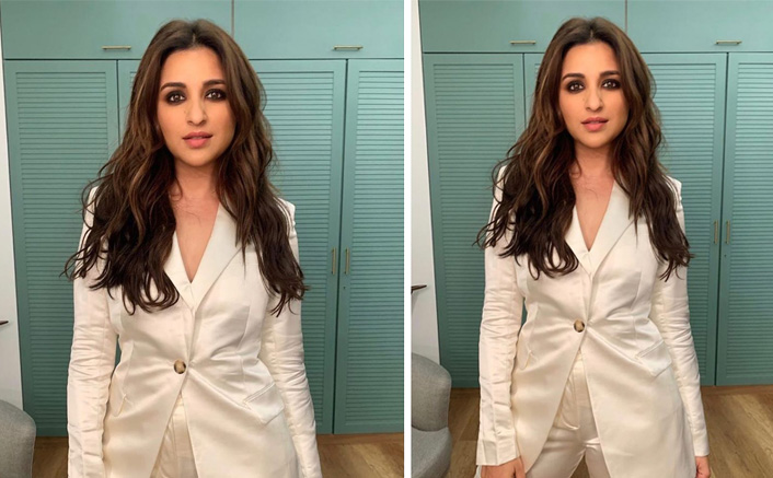 Parineeti Chopra Looks Like An Absolute Diva In A White Power Suit - View Pics!