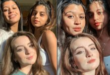 PHOTO: Suhana Khan Looks Radiant & Stylish As She Strikes A Pose With Her Girl Gang!