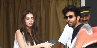 PHOTOS: Kartik Aaryan Gets Spotted With Tara Sutaria But It's 'No One's Business'
