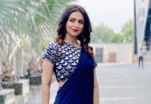 PICTURE: Divyanka Tripathi Dahiya Makes A Perfect 'Naree In Saree' In Blue & We Are Loving it!