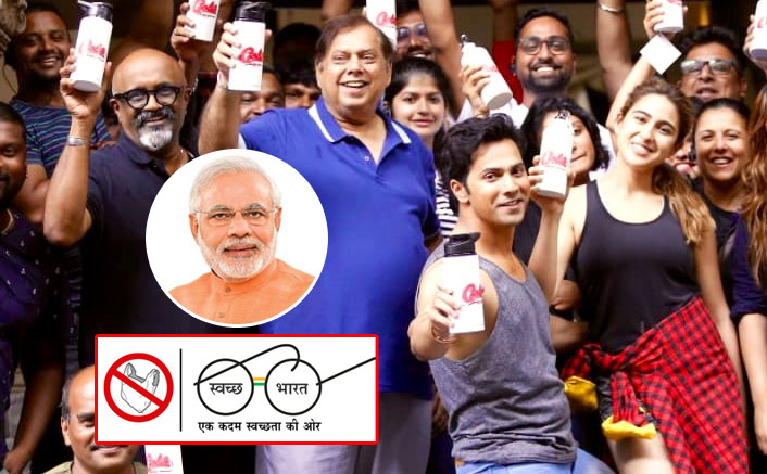 Gandhi Jayanti: Team Coolie No. 1 Followed The Plastic-Ban Movement, Rest Of Bollywood Should Enroll Soon