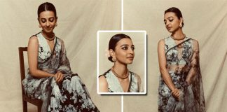 Radhika Apte looks resplendent in traditional attire, bags the Breakthrough artiste award
