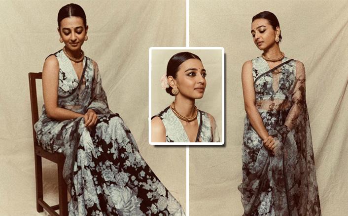 Radhika Apte Looks Resplendent Dressed In Traditional Attire As She Bags The Breakthrough Artiste Award