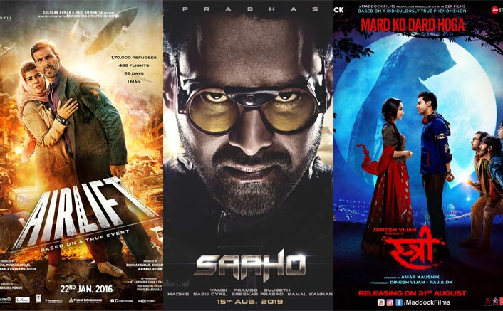 Saaho Box Office (Hindi): The Film Beats The Lifetime Business Of Airlift & Stree In All Time Chart