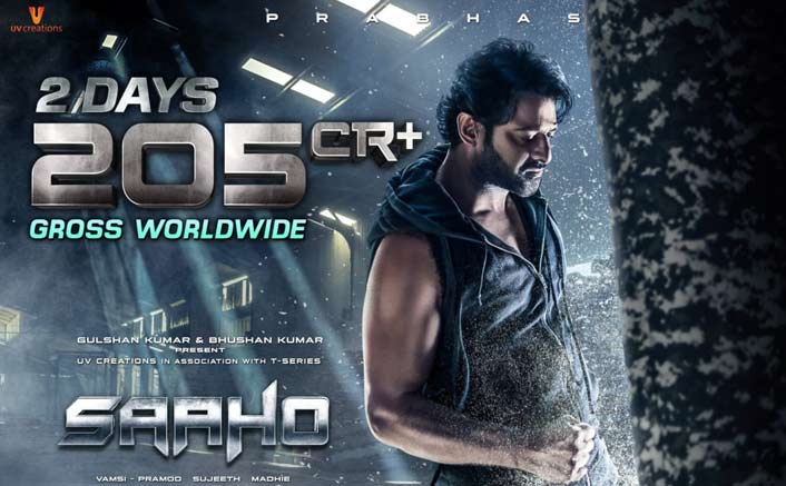 Saaho Box Office (Worldwide): Garners Earth-Shattering 205 Crores In Just 2 Days!