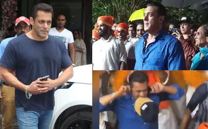 Salman Khan's ROWDY DANCE Is All Of Us During Ganpati Visarjan - WATCH!
