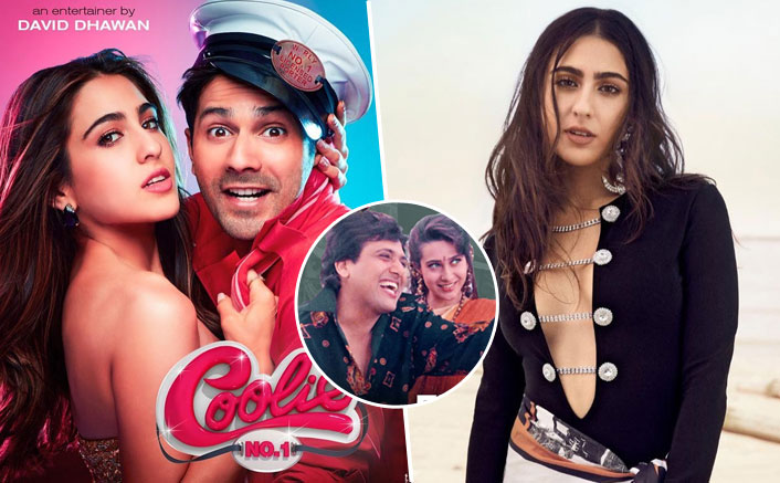 Coolie No.1: Is Sara Ali Khan Really Nervous About Recreating Main To Raste Se Ja Raha Tha? The Actress Reveals