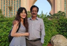 South Actress Harshika Poonacha's Father Passes Away