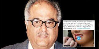 Sridevi's Madame Tussauds Wax Statue: Boney Kapoor Shares A Sneak Peek Video