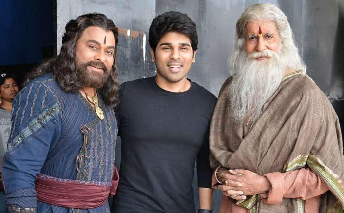 Sye Raa Narasimha Reddy: Allu Sirish Was Starstruck After Meeting Legends Amitabh Bachchan And Chiranjeevi