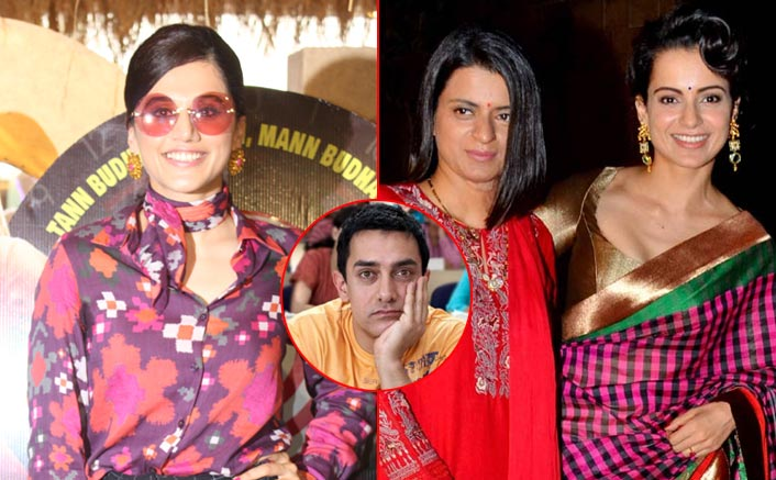 """Taapsee Pannu's Befitting Reply To Kangana Ranaut's Sister: """"Did We Question When Aamir Khan Played A Kid In 3 Idiots?"""""""