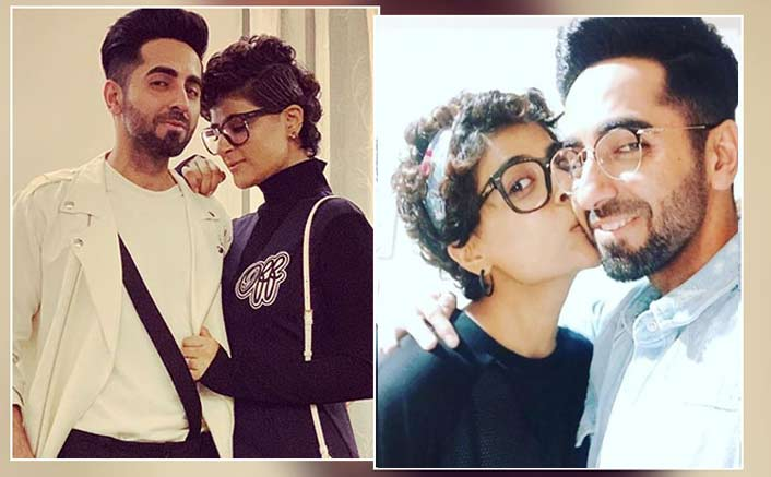 Happy Birthday Ayushmann Khurrana: Tahira Kashyap's B'day Wish Consists Of A Peck On The Cheek & An Adorable Note