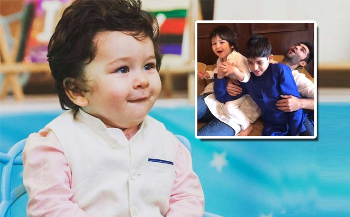 VIDEO: Taimur Ali Khan Chanting Ganpati Bappa Morya Is The Cutest Thing You'll See On the Internet Today!