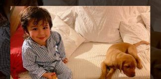 Taimur Ali Khan's Pic With A Cute Puppy Is The Cutest Thing You'll See Today