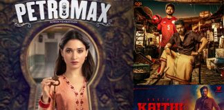 Tamannaah Bhatia's Petromax To Take On Thalapathy Vijay's Bigil & Karthi's Kaithi At Box Office On Diwali