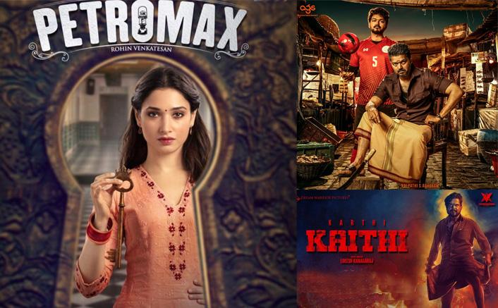 Tamannaah Bhatia's Petromax To Take On Thalapathy Vijay's Bigil & Karthi's Kaithi At Box Office On Diwali