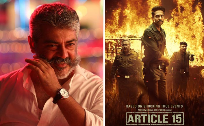 Thala Ajith To Star In Tamil Remake Of Article 15?